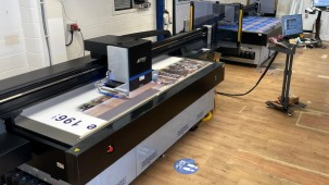 Screentec's new JETRIX LXi6 Flatbed Printers deliver up to three times the speed for many of their routine projects.