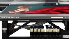 New Mimaki JFX200-EX to take centre stage as Hybrid returns to The Print Show.