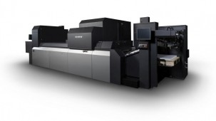 The new B2 inkjet press will be the industry's fastest*, capable of printing up to 5,400sph, and is being showcased for the first time at virtual.drupa.