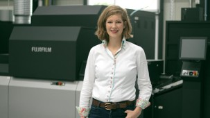 Goldschmidt switches offset work to digital after investing in Fujifilm's Jet Press 750S.