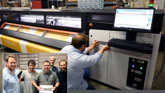 Parallax brings first superwide HP Stitch S1000 textile printer to US.