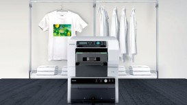 Ricoh's latest DTG printer, the Ri 100, has proved to be a game changer for family-run print supply business.