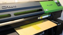 Since installing one of Europe's first VersaUV LEC-540 printer/cutters in 2010, Beams International continue to produce high-quality mock-ups for the busy retail market.