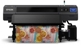 The 64-inch SureColor SC-R5000 offers accurate, colour-consistent and fast drying prints on a wide variety of substrates.
