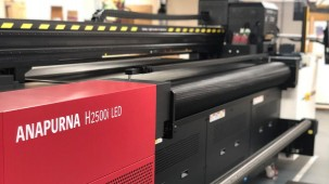 House of Flags invests in 'out of this world' Agfa Anapurna H2500i LED in move to diversify product range.