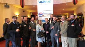 Roland Users Celebrate Their Craft at the 2018 British Sign Awards.