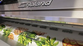 Roland DG's new EJ-640 DECO, designed for the interior decoration market, is meeting demands for eco-friendly, high-quality wallpaper at The Print Hive.
