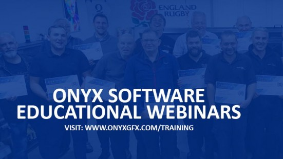 Onyx Graphics launches educational webinars to help customers optimize workflow.