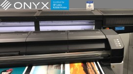 HP chose award-winning ONYX software last month during the FESPA Global Print Expo in Berlin to showcase the capabilities of the newly-unveiled HP Latex R2000 Plus printer with white ink technology.