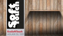 EcoSoftTouch ASLAN SL 109the environmentally-friendly soft touch film gives prints an increased colour brilliance.